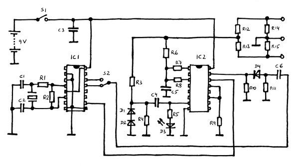ecg simulator ecg simulator schematic