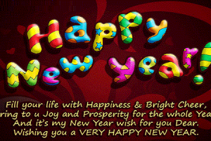 Greeting For Happy New Year 2016 Wishes