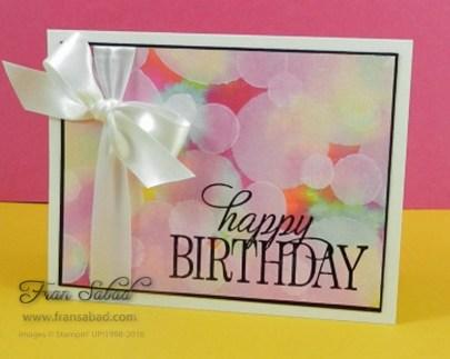 Creative Circle 4:2016 Happy Birthday Everyone