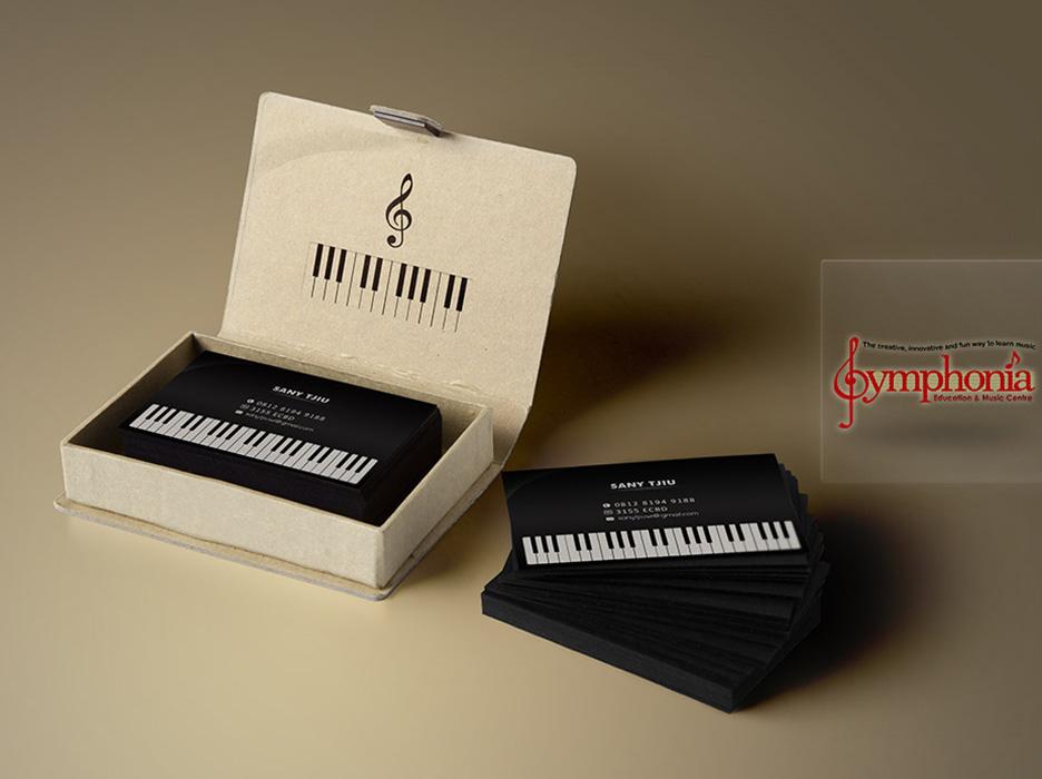 Pianist Business Cards   cvfree.pro