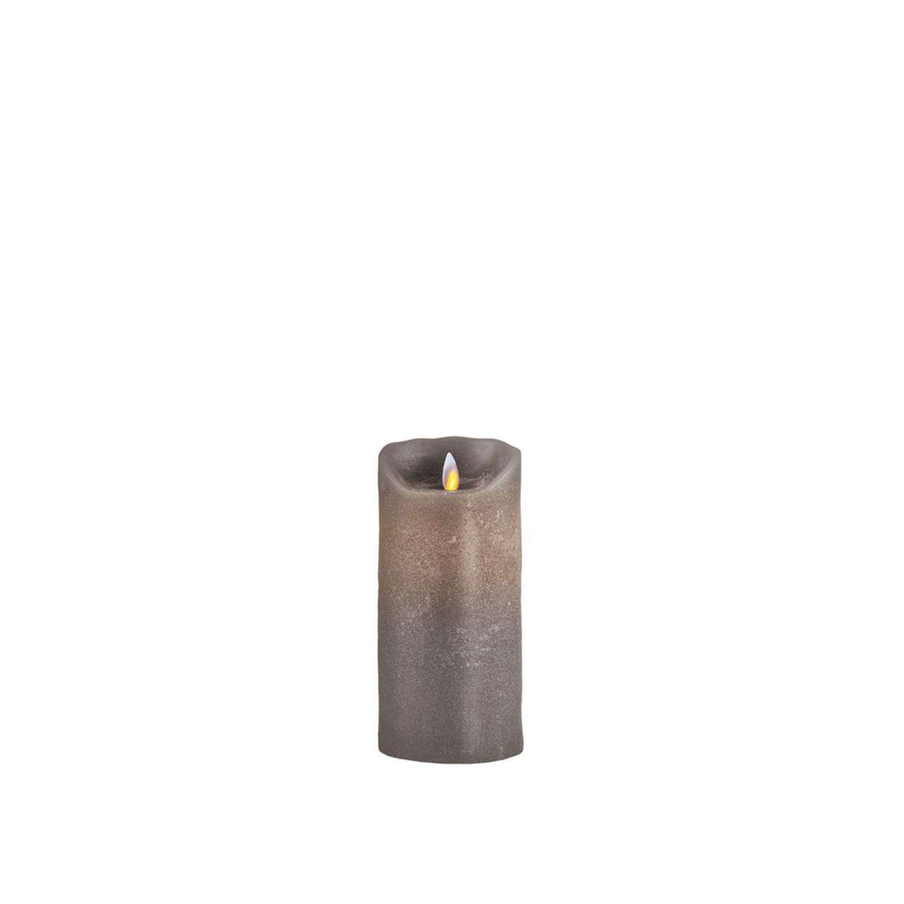Sompex Düsseldorf Led Candle 8x18 Cm Taupe