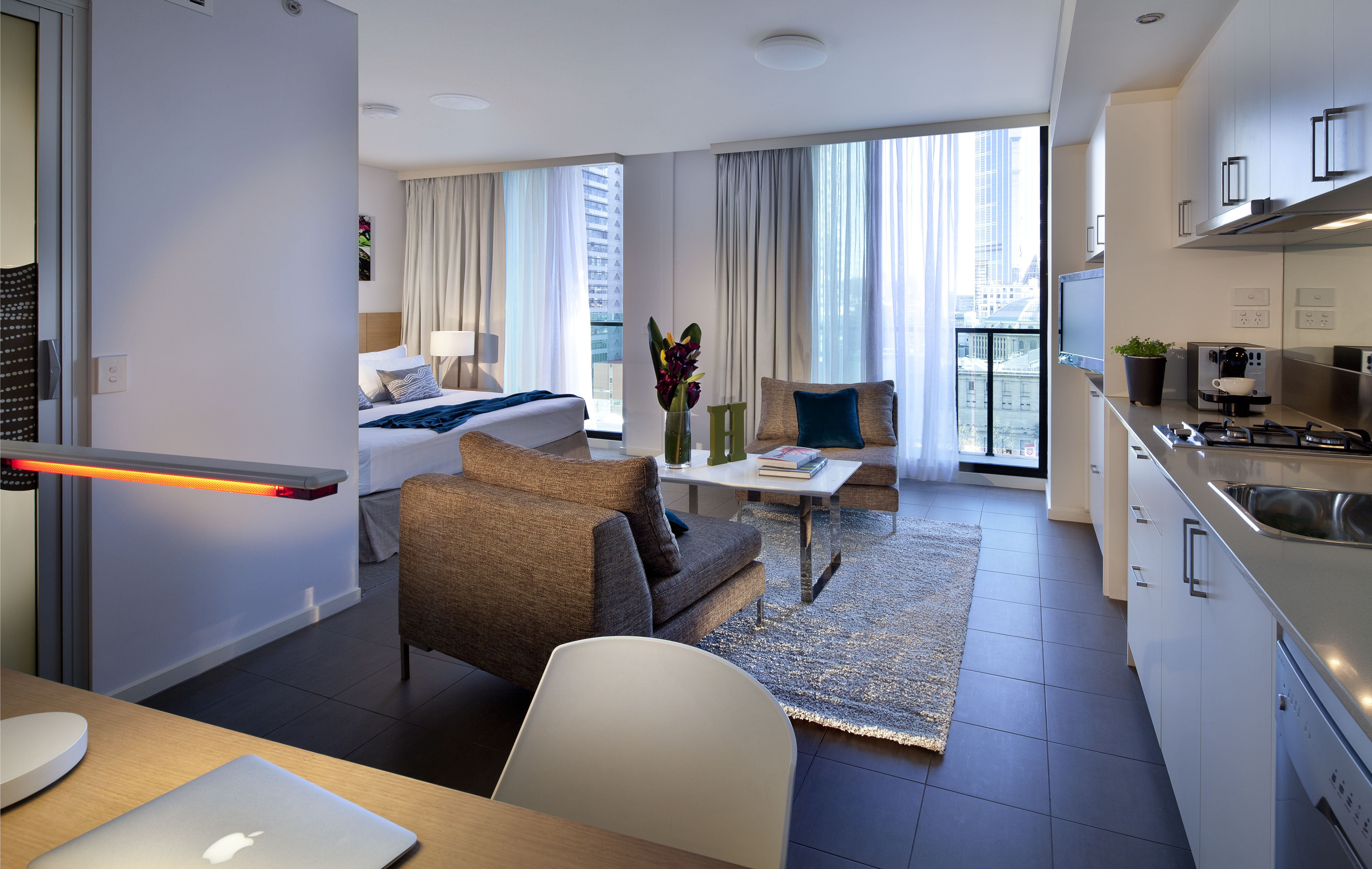 Studio Apartment Melbourne Fraser Place Melbourne Sets Gold Standards With Chic All Suite