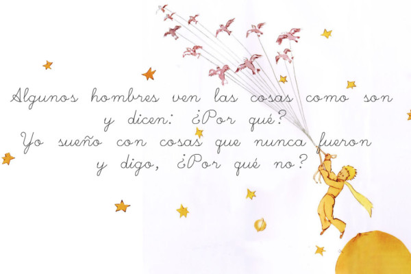 Le Petit Prince Quote Wallpaper Im 225 Genes Con Frases De Quot El Principito Quot Para Reflexionar