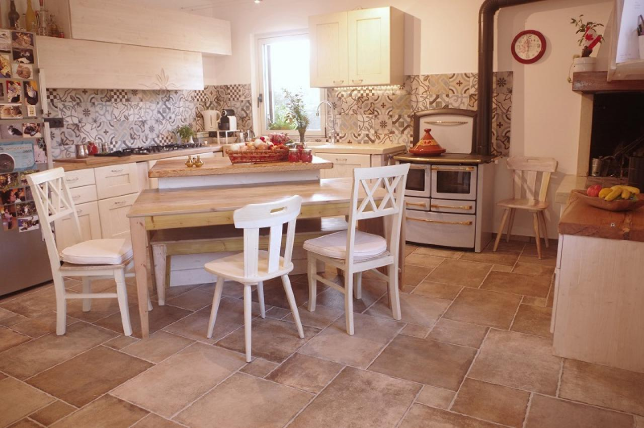 Cucine country rosa vicenza technology in the kitchen with the