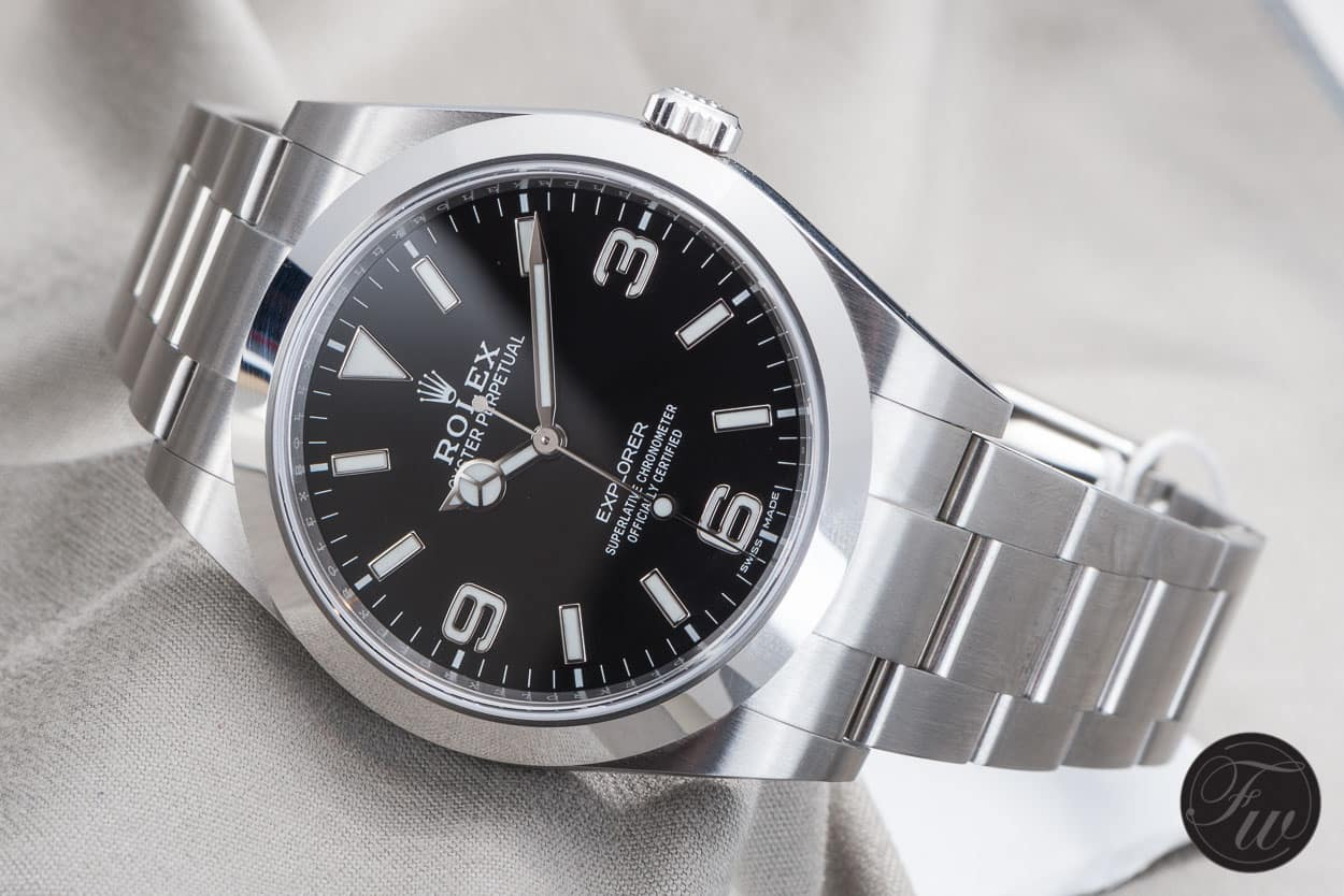 Rolex Explorer The New Rolex Explorer Reference 214270 Our Thoughts