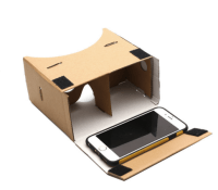 Google Cardboard VR Brille auf AliExpress - Frau Nerd
