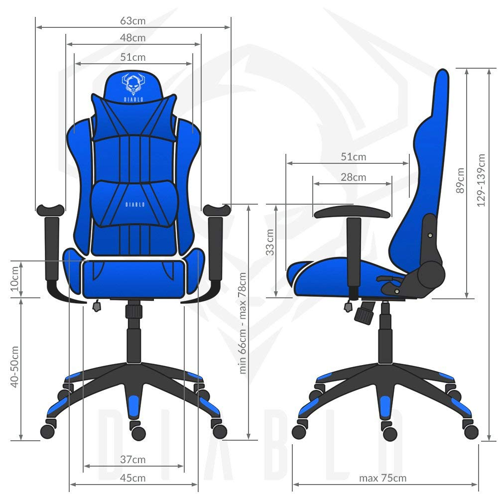 Silla Gamer Diablo X One La Mejor Silla Gamer Del 2019 Freakandor Gamer - Sedia Gaming Diablo X