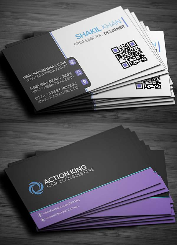 15 Free Business Cards PSD Templates  Freakify - free cards templates