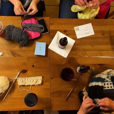 follow knittingallison on instagram