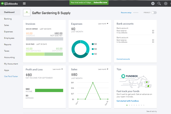 Using QuickBooks\u0027 Income Tracker - FredCo Accounting Services, Inc