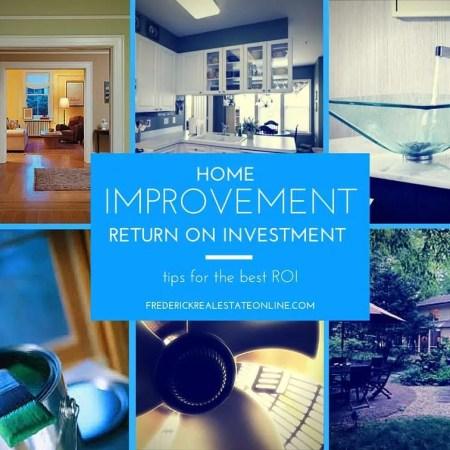 home improvement roi
