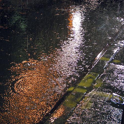 Rain Gutter, 2003, photo by Fred Hatt