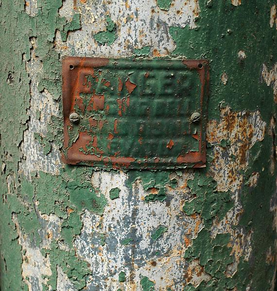 Danger Illegible, 2005, photo by Fred Hatt