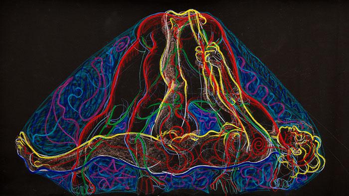 Double Exposure, 2007, by Fred Hatt
