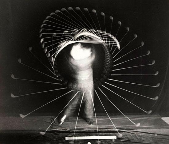 Bobby Jones Multi Flash, 1938, by Harold Edgerton
