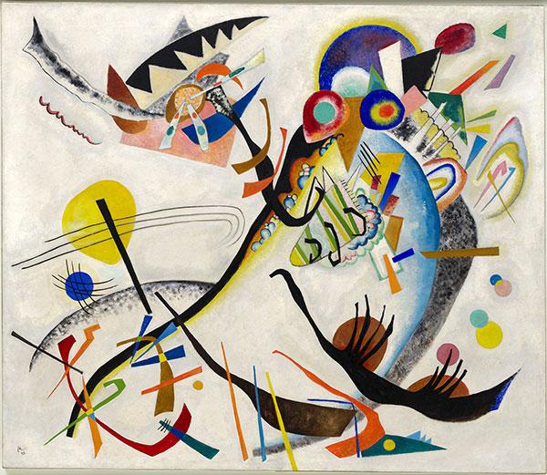 Blue Segment, 1921, by Wassily Kandinsky