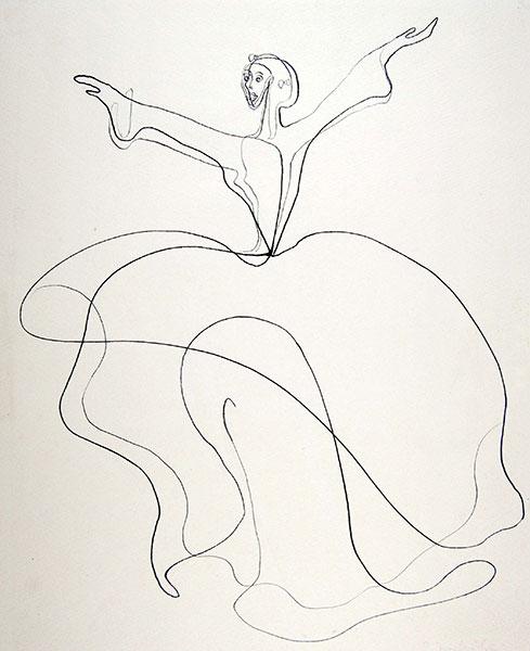 "Martha Graham's ""Letter to the World"", 1940, by Charlotte Trowbridge"