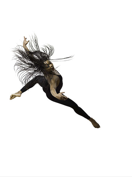 Odara Jaeali-Nash/Philadanco, 2007, photo by Lois Greenfield