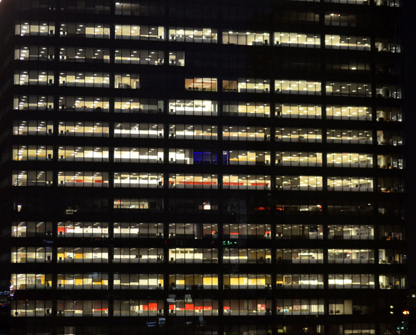 Office Building, 2012, photo by Fred Hatt