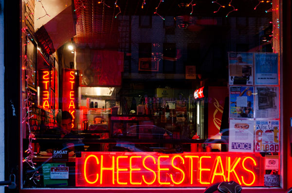 Cheesesteaks, 2013, photo by Fred Hatt
