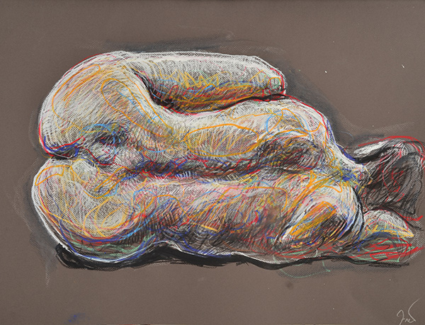 Curled Back, 2013, by Fred Hatt