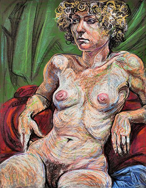 Curly Hair, 2013, by Fred Hatt