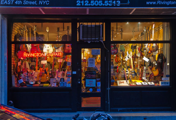 Guitar Shop, 2013, photo by Fred Hatt