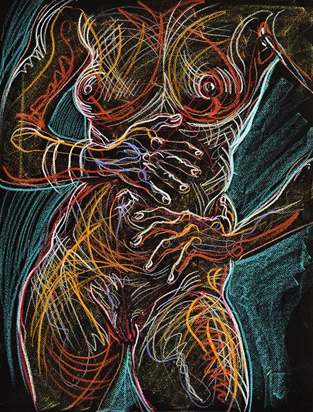 Rough Torso, 2013, by Fred Hatt