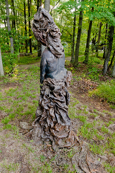 The Watcher (back view), 2009, photo by Fred Hatt