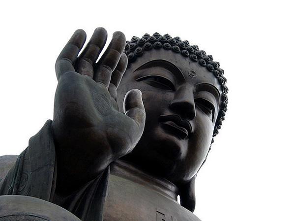 Tian Tan Buddha of Po Lin Monastery, Hong Kong, 1993, designed by  Hou Jinhui
