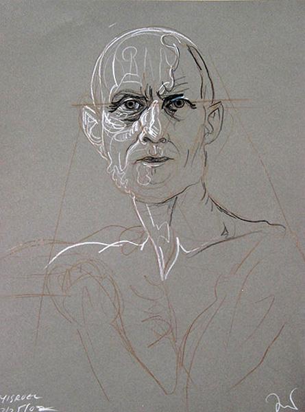 Prophet study, 2002, by Fred Hatt