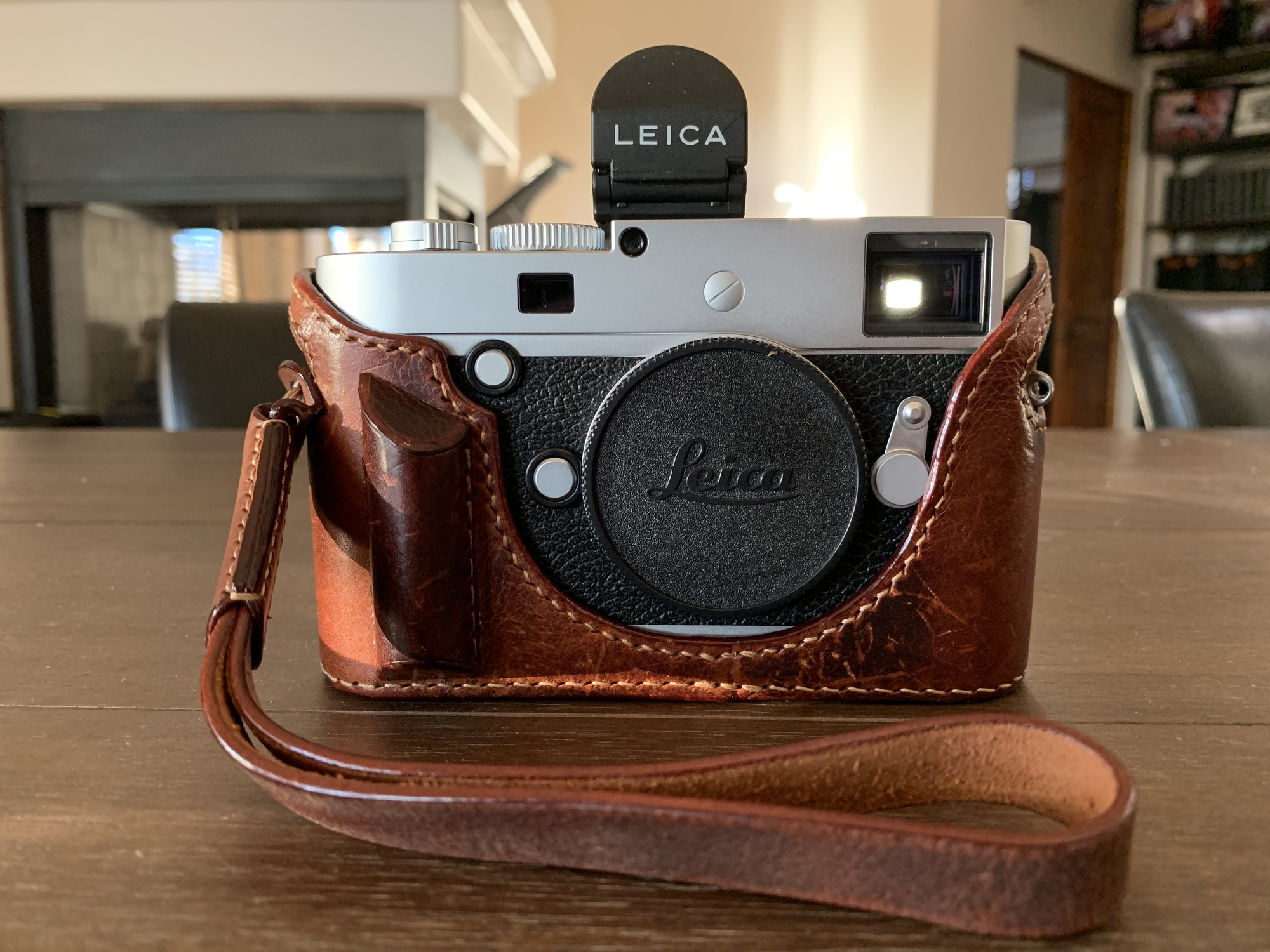 Arte Di Mano Half Case Sold Leica M P Typ 240 Silver Chrome Mint Fm Forums