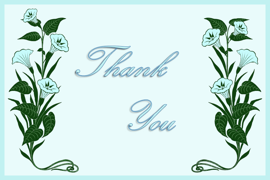 Printable Thank You Cards Free Printable Greeting Cards - free thank you card template