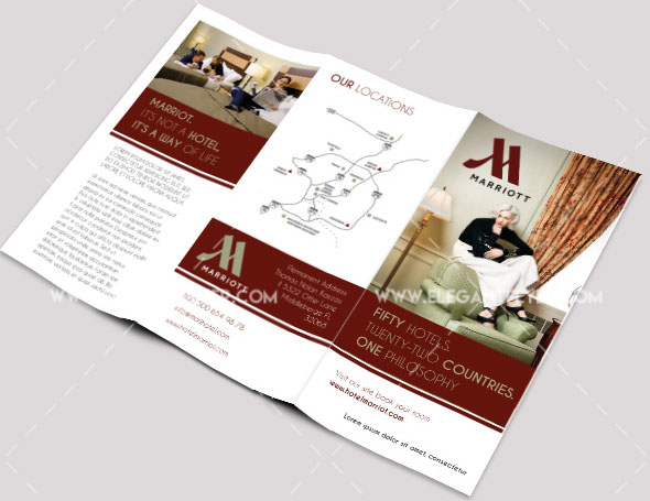 30 Free PSD Business Flyers + Brochures Templates! Free PSD Templates - hotel brochure template