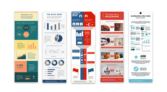30 Free Infographic Templates to download! Free PSD Templates