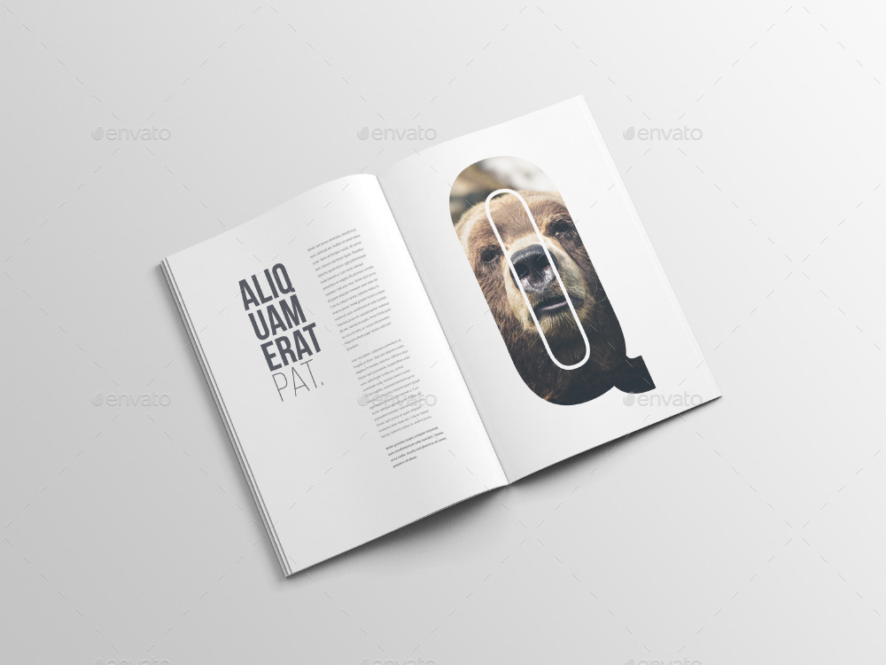 30 Free Psd Magazine Catalog Mockups For Business And