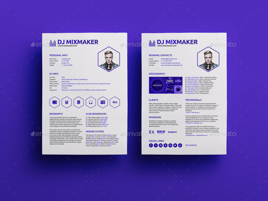 30 Free PSD CV/ Resume Templates + Cover Letters to download! Free