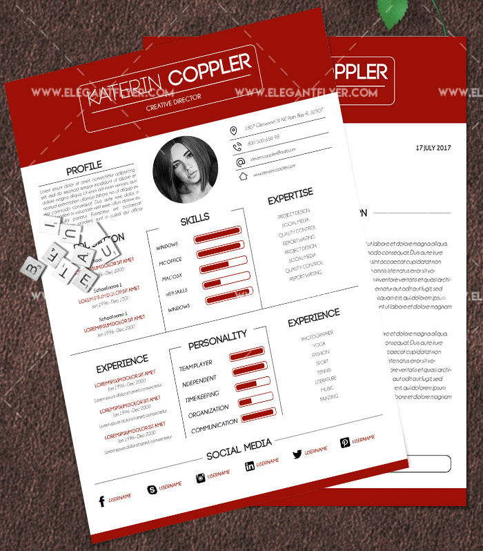 60+PREMIUM  FREE PSD CV/ RESUME TEMPLATES + COVER LETTERS TO