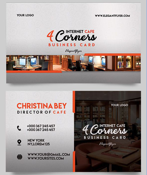 30 FREE PSD Business Cards Templates for powerful business! Free