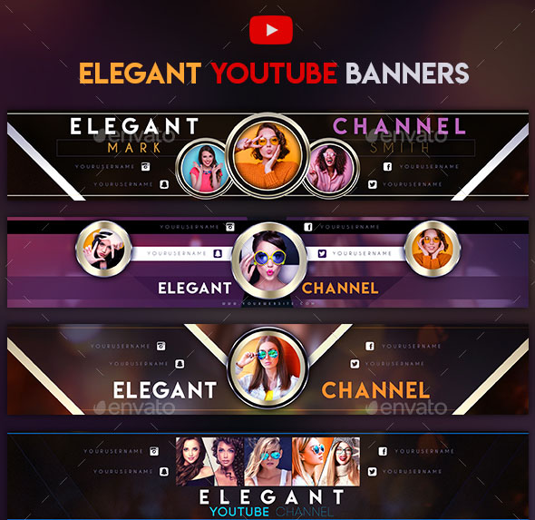 36+PREMIUM  FREE PSD YOUTUBE CHANNEL BANNERS FOR THE BEST CREATIVE
