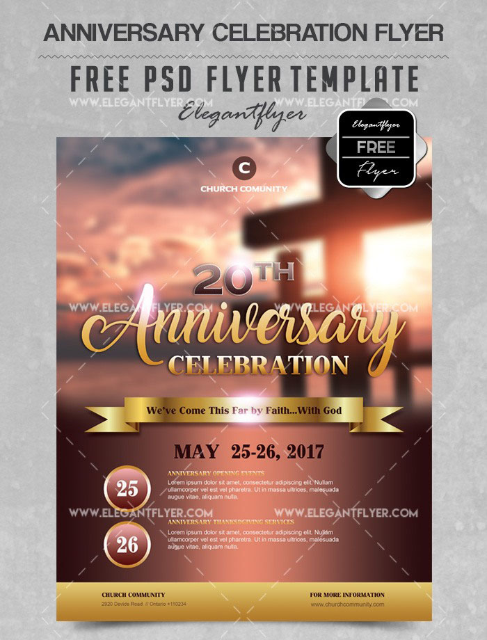 34+ Free PSD Church Flyer Templates in PSD for Special Events