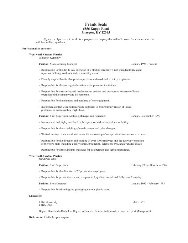 resume templates corel draw