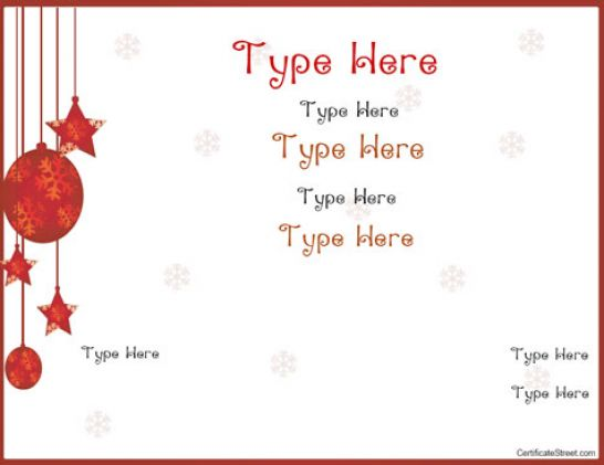 Printable Gift Certificates Templates Free – Printable Gift Certificates Templates Free