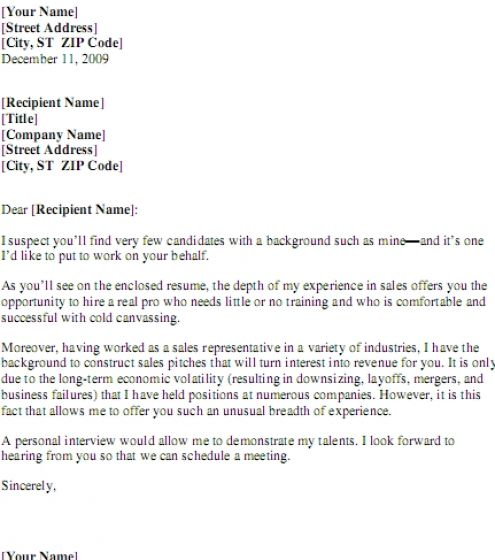 Do online resumes need a cover letter