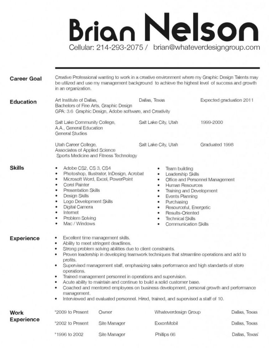 It Resume Template Word  Resume Templates Professional Report