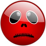 Red Smiley Face Clip Art