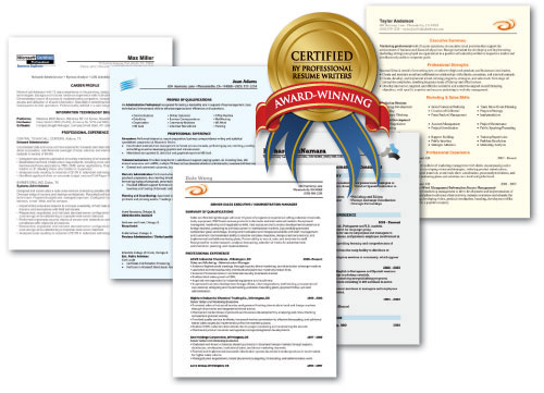 Professional Resume writing examples for nearly every career Free - Winning Resume Sample