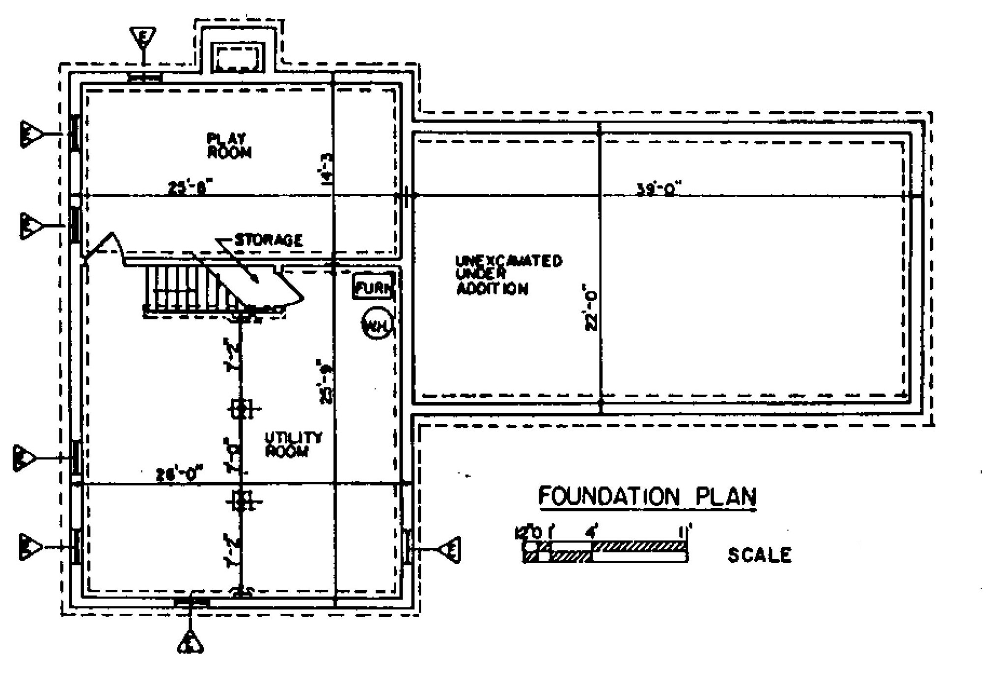 Home Foundation Plan Little House Design Plans Free Software To . Part 11