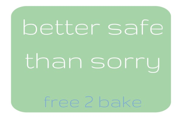 baking for food allergies