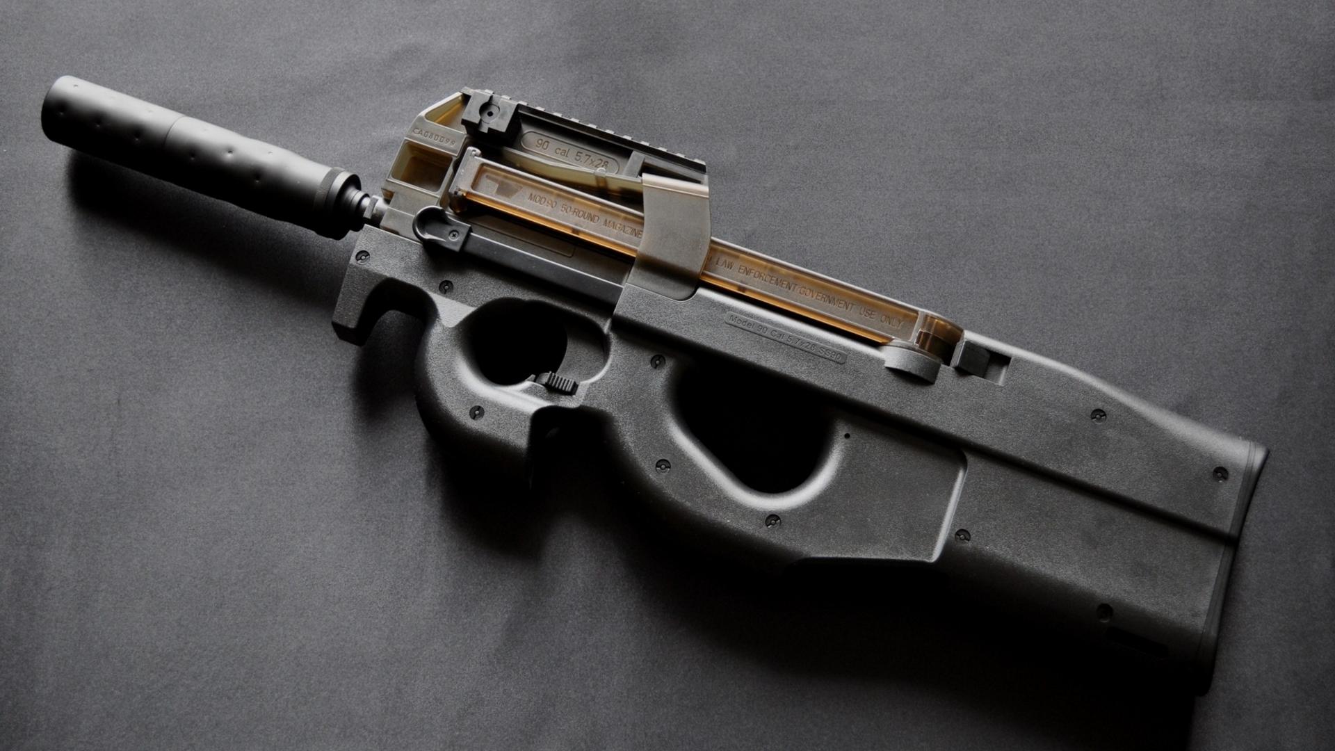 Ak 47 Iphone Wallpaper Ss90 Gun With Silencer Hd Wallpaper